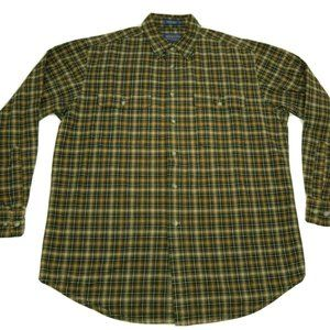 Pendleton Men's Large Hikers Shirt Cotton Plaid